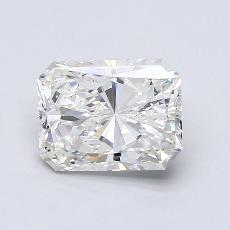 2.01-Carat Radiant Diamond Very Good G VS1