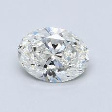 1.51 Carat 橢圓形 Diamond 非常好 G VS1