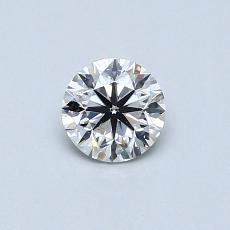Recommended Stone #4: 0,40-Carat Round Cut
