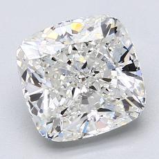 推薦鑽石 #4: 3.01 克拉墊形切割