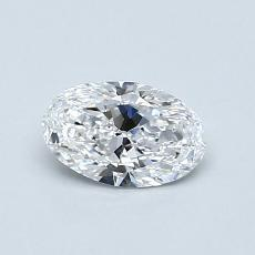 Recommended Stone #2: 0.51-Carat Oval Cut