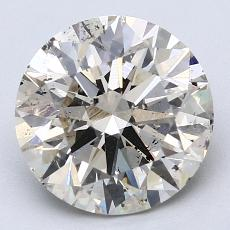 Recommended Stone #1: 3.13-Carat Round Cut