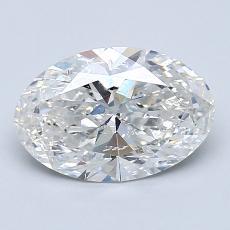 1.53-Carat Oval Diamond Very Good G SI2