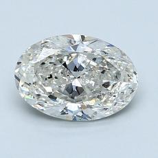 1.20-Carat Oval Diamond Very Good I SI2