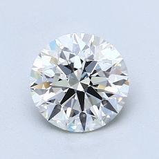 1,20 Carat Rond Diamond Idéale H VVS2