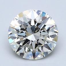 Pierre recommandée n°2: Diamant taille ronde 2,08 carat