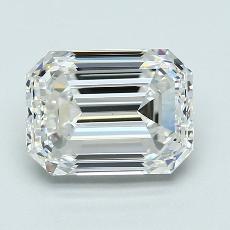 2.30-Carat Emerald Diamond Very Good G VS1