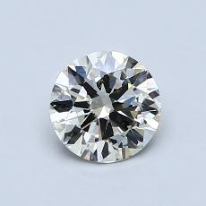 0.70 Carat 圆形 Diamond 非常好 K SI2