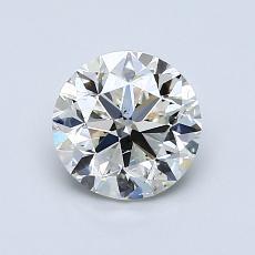 1.01 Carat Redondo Diamond Muy buena K SI2