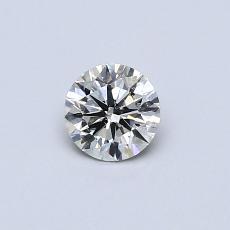 推荐宝石 1:0.37 克拉圆形切割