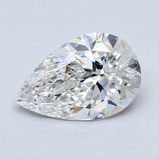 Recommended Stone #4: 1.02-Carat Pear Shaped