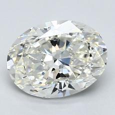 推薦鑽石 #2: 1.71  克拉橢圓形切割