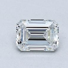 Recommended Stone #1: 0.86-Carat Emerald Cut