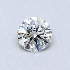 0.52-Carat Round Diamond Ideal I SI2