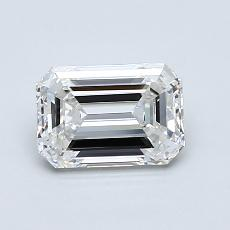 Recommended Stone #3: 1,00-Carat Emerald Cut
