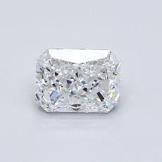 推薦鑽石 #4: 1.00 克拉雷地恩明亮式切割