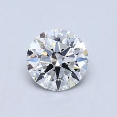 0.71 Carat 圆形 Diamond 理想 E VVS2