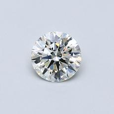 Recommended Stone #4: 0,42-Carat Round Cut
