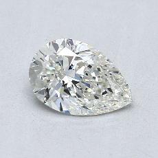 0.71 Carat 梨形 Diamond 非常好 I SI1