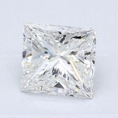 Recommended Stone #3: 1.24-Carat Princess Cut