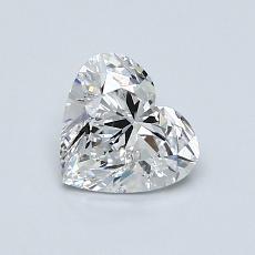 オススメの石No.2:0.80 Carat Heart Shaped