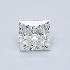 Piedra recomendada 4: Talla princesa de 0.70 quilates