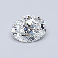 Recommended Stone #1: 0,70-Carat Oval Cut