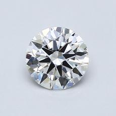 Recommended Stone #1: 0.75-Carat Round Cut