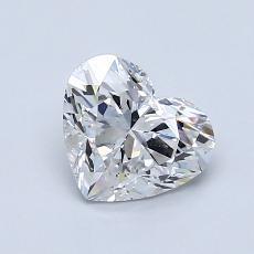 1.01-Carat Heart Diamond Very Good D VS1