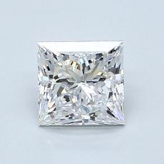 推薦鑽石 #3: 1.08 克拉公主方形切割