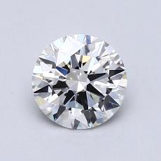 1.00 Carat 圓形 Diamond 理想 G VVS2