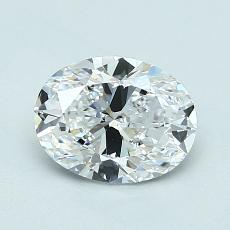 Recommended Stone #1: 1.01-Carat Oval Cut