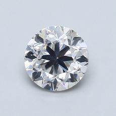 1.01-Carat Round Diamond Good F SI1