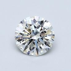 0,80 Carat Rond Diamond Idéale I VS2