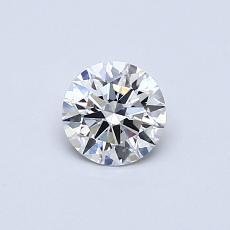 推荐宝石 2:0.41 克拉圆形切割