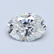 Recommended Stone #3: 1.00-Carat Oval Cut