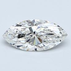 1.03-Carat Marquise Diamond Very Good G SI2