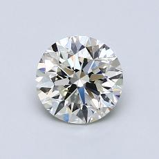 推荐宝石 1:0.90 克拉圆形切割