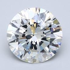 Current Stone: 2.39-Carat Round Cut