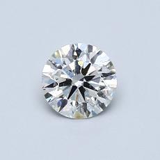 推荐宝石 1:0.52 克拉圆形切割