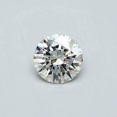 推薦鑽石 #2: 0.30  克拉圓形切割