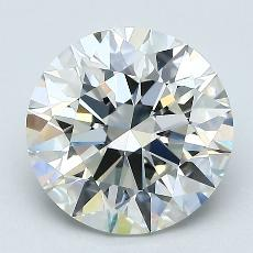 Recommended Stone #3: 2.09-Carat Round Cut