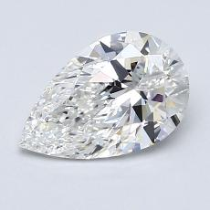 Recommended Stone #3: 1.18-Carat Pear Shaped