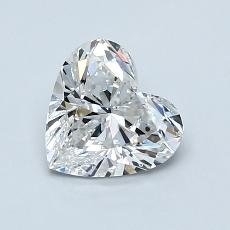 Recommended Stone #1: 1.02-Carat Heart Shaped