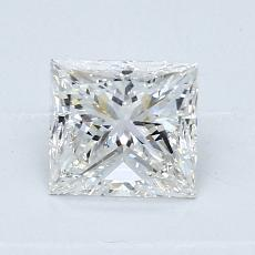 推荐宝石 3:0.91 克拉公主方型切割