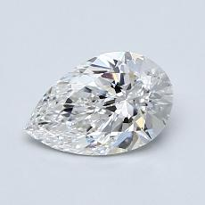 Recommended Stone #3: 0,81-Carat Pear Shaped