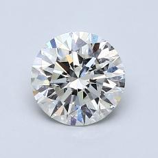 推荐宝石 1:1.04 克拉圆形切割