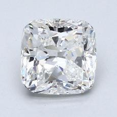 推薦鑽石 #2: 1.70 克拉墊形切割
