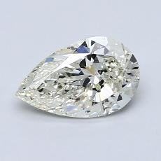 Current Stone: 1,00-Carat Pear Shaped