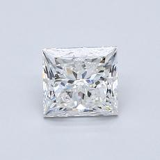 Recommended Stone #2: 0.80-Carat Princess Cut